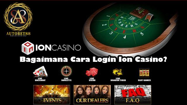 Login Ion Casino